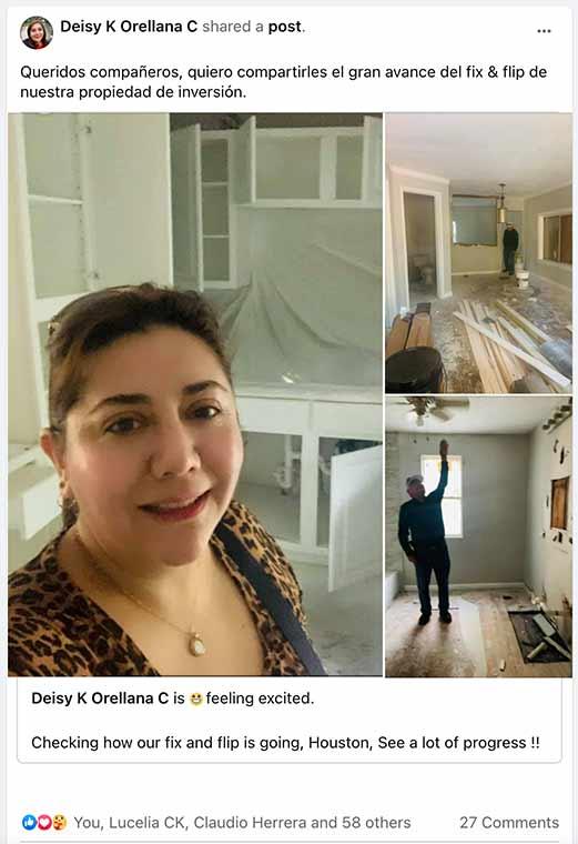 Deisy Orellana - Novarise Latino Reviews
